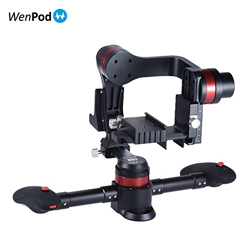 WenPod MD2 ハンドヘルド 知能 ブラシレス 3軸 ジンバル カメラ ビデオ スタビライザー ジャイロ キヤノン ニコン ソニー デジタル 一眼レフILDC ミラーレス カム ビデオカメラ用