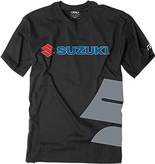 Factory Effex 15-88472 Suzuki Big 'S' T-Shirt (Black, Large) (B0065X7YZ0) | Amazon price tracker / tracking, Amazon price history charts, Amazon price watches, Amazon price drop alerts