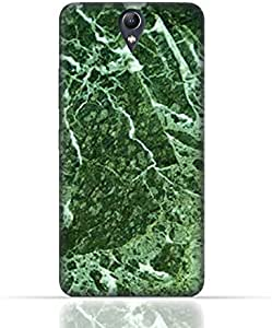 Lenovo Vibe S1 Lite TPU Silicone Case With Green Marble Texture Design.