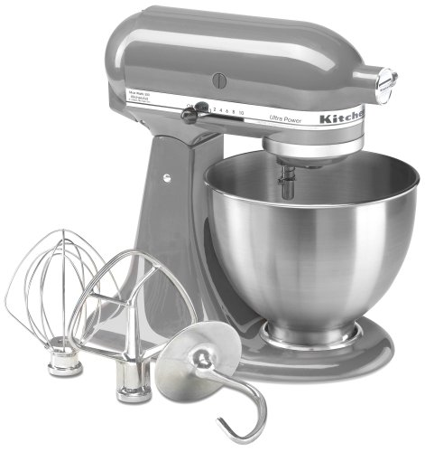 KitchenAid KSM95CU Ultra Power Series Contour Silver 4.5 Quart Tilt Head Stand Mixer