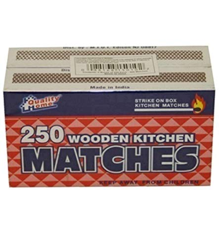 2 Pack Matches 250 Count, Case of 48