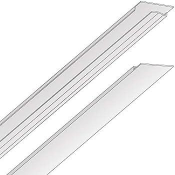 Ez On T Bar Ceiling Grid Cover Kit Snap On White 52