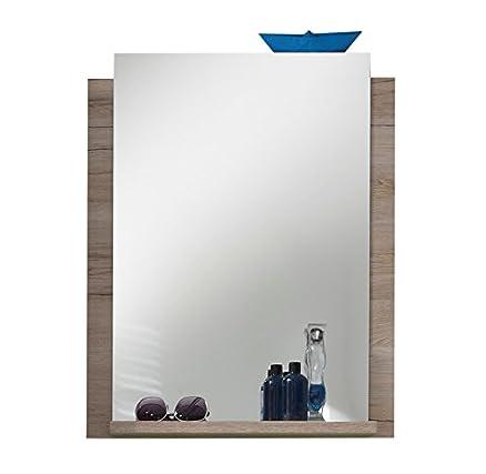 trendteam, Specchio da parete, Bianco (Weiß): Amazon.it: Casa e cucina