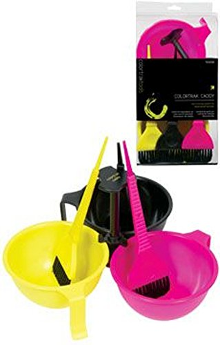 Colortrak Tools Caddy with Bowl & Brushes by Colortrak