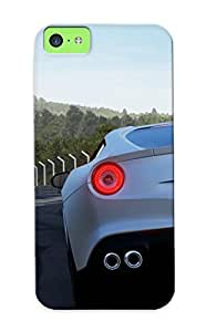 Blackducks Iphone 5c Well-designed Hard Case Cover Ferrari F12 Berlinetta Forza Motorsport 5 Protector For New Year's Gift