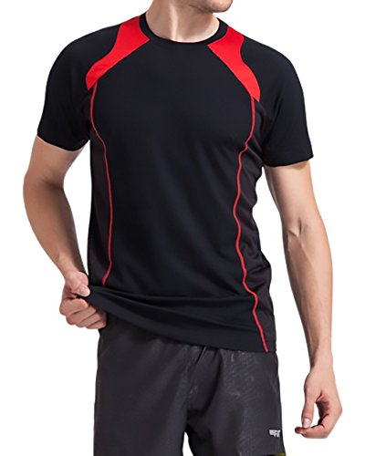 ClubFit Men's Ultra Light Cool Dry Anti-Bacterial Athleisure Wear FITDRY T-Shirt