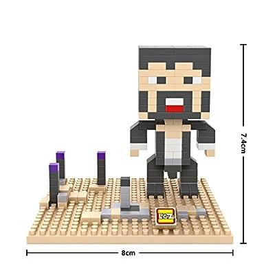 Mindcraft Interlocking Blocks Puzzle - Desert