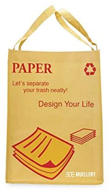 TwoTones MoonWorld Recycling Bag Recycle Box Bins Waterproof attachments SR0017