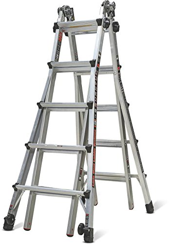 Little Giant Quantum Multi-Use Ladder 300 Pound Rating (Model 22) (Ladder Giant Costco Little)
