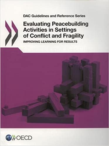 DAC Guidelines and Reference Series Evaluating Peacebuilding