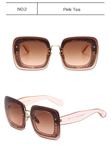 Sunglasses Women Big Brand Designer Vintage Luxury - For Cartier Men Eyewear