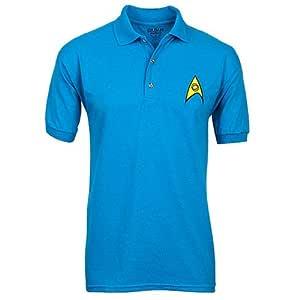 Star Trek Polos Uniformes - Azul - MEDIO: Amazon.es: Electrónica