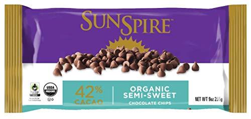 SunSpire, Semi-Sweet Organic Chocolate Chips, 9 oz