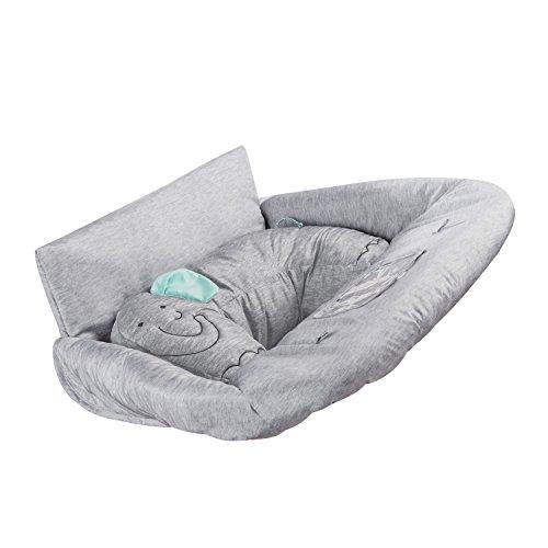 Summer Infant Cushy Cart Cover, Elephant, Heathered Grey -
