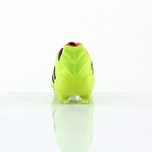 Nitrocharge 1.0 TRX FG - Chaussures de Foot Solar Slime/Noir/Zeste Solaire Vert