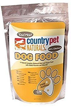 (Real Meat Air Dried Chicken Recipe Dog Food with Added Vitamins and Minerals, 2 lb )
