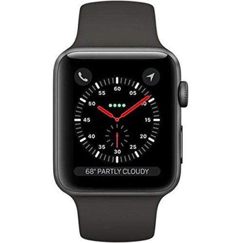Apple Watch Series 3 (42mm) Space Grey Aluminium...