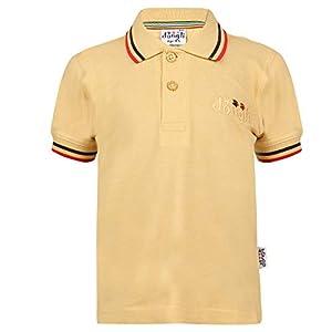 dongli Boys Half Sleeve Cotton Polo Tshirt with bio wash (Pack of 1).