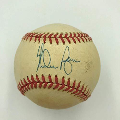 - Nolan Ryan Signed Baseball - Official American League Coa - JSA Certified - Autographed Baseballs