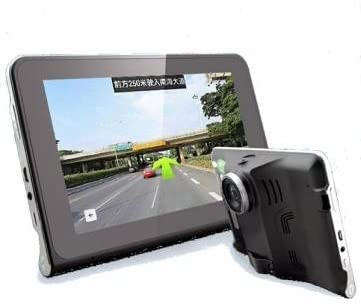 navegación GPS inteligente e20 dvr del coche de 7 pulgadas de gran angular de 170 grados de 1080p de alta definición
