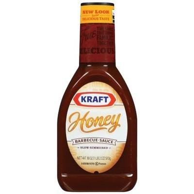 KRAFT BBQ BARBEQUE SAUCE HONEY 27 OZ