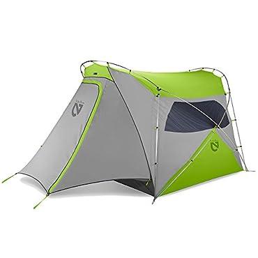 Nemo Wagontop 4P Camping Tent (Granite Grey/ Birch Leaf Green)