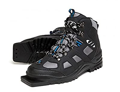 New Whitewoods Adult 301 3 Pin 75mm Nordic Cross Country XC Insulated Ski Boots (40)