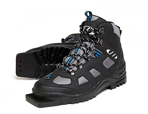 New Whitewoods Adult 301 3 Pin 75mm Nordic Cross Country XC Insulated Ski Boots (40) by Whitewoods