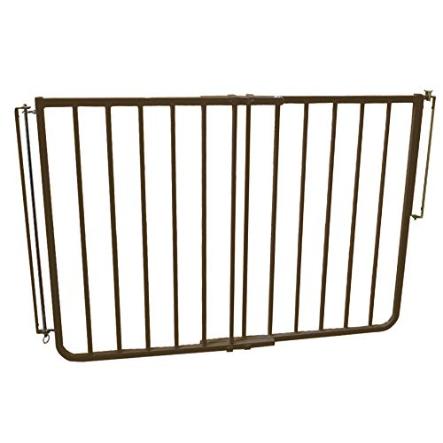 Stairway Special Baby/Pet Gate for Outdoors Colors: Brown