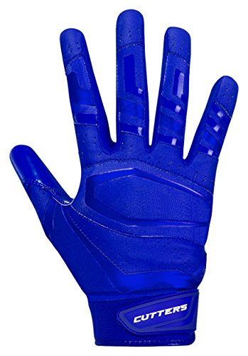 Cutters Gloves, Solid Royal, XX-Large by Cutters