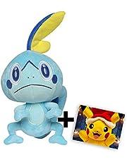 Lively Moments Pokemon Plüschtier Galar zu Nintendo Switch Schwert und Schild - Memmeon + GRATIS Grußkarte