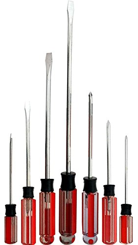 7 Piece Screwdriver Set Featuring Philllips & Slotted