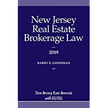 New Jersey Real Estate Brokerage Law 2019