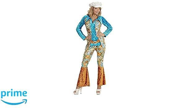 WIDMANN Desconocido Disfraz de baba cool hippie para mujer: Amazon ...