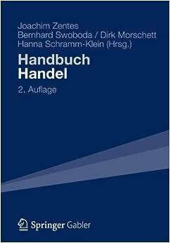 Book Handbuch Handel: Strategien - Perspektiven - Internationaler Wettbewerb