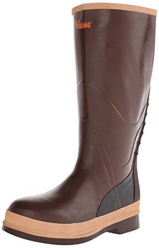 Viking Footwear Non-Safety Boot,Brown,11 M (Viking Rubber Boot)