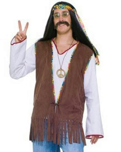 (Male Hippie Vest - Standard)