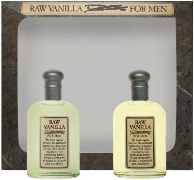Raw Vanilla By Coty For Men. Gift Set ( Cologne Splash 1.7 Oz + Aftershave 1.7 Oz). 41K8iy2BNvXL