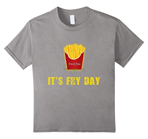Fry Costume French Kid (Kids French Fries last minute costume t-shirt for kids 12)