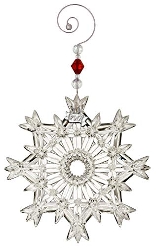 Waterford Snow Crystal Pierced Ornament