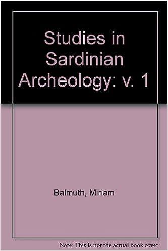 Studies in Sardinian Archaeology, Vol. 1