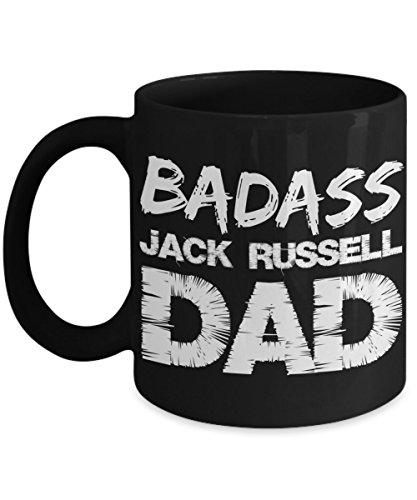 Russell Ceramic Mug (Jack Russell Mug 11 oz - Badass Jack Russell Mug - Funny Jack Russell)