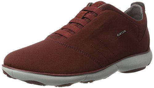 Geox Men U Nebula F Low-Top Sneakers Red (Wine C7011) Dxetu6QEIp