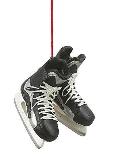1 X Christmas/ Everyday Ornament- 2.5 Inch Hockey Skates (Hang or Stand Up!) by Midwest-CBK