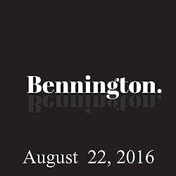 Bennington, August 22, 2016