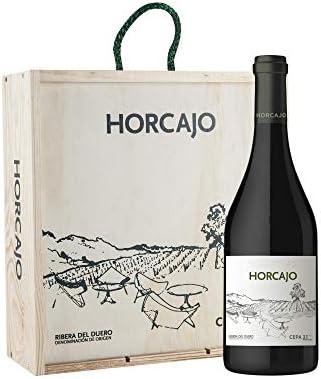 CEPA 21 - Horcajo, Vino Tinto, Tempranillo, Ribera del Duero, 1500 ml, Caja de Madera