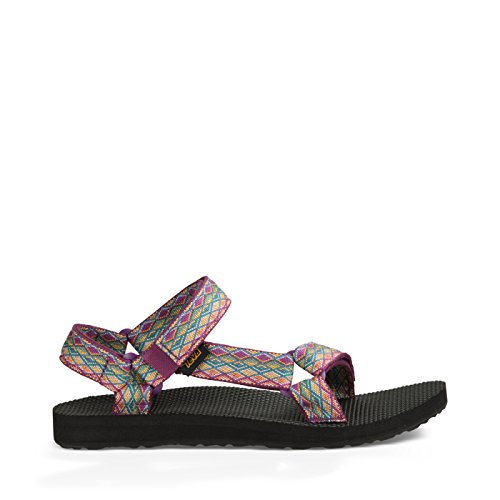 Teva Women's W Original Universal Sandal, Miramar Fade Dark Purple/Multi, 10 M US