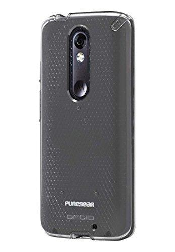 PureGear Slim Shell Series Case for Motorola Droid Turbo 2 - Clear