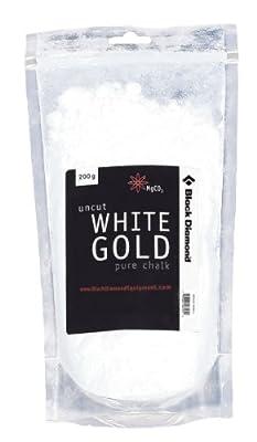Black Diamond White Gold Loose Chalk
