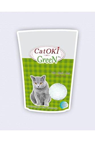 CatOKI arena para gatos. GEL DE SILICE PLUS. 12 unidades por caja: Amazon.es: Hogar